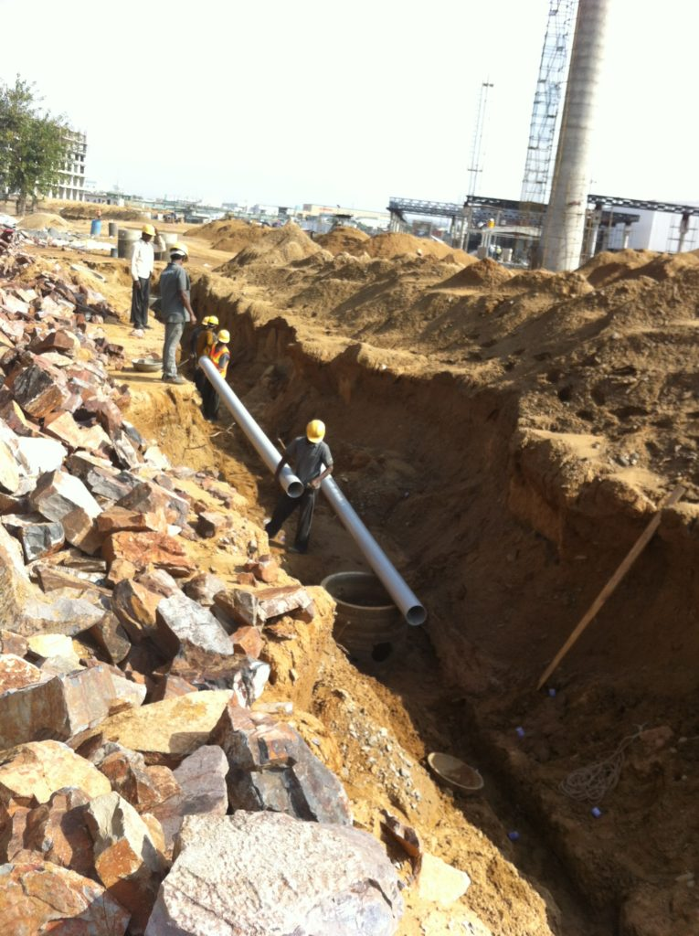 PVC interconnection of rainwater harvesting systems